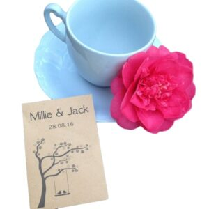 wildflower seed favour