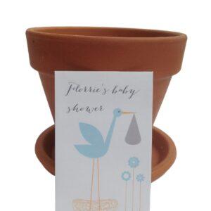 stalk baby shower seed envelope