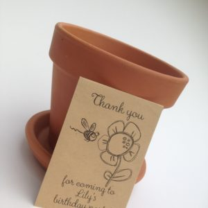 birthday seed favour