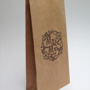 wedding kraft party bag
