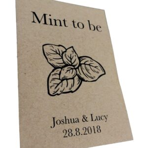 wedding mint favour