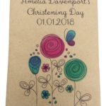 naming day seed packet