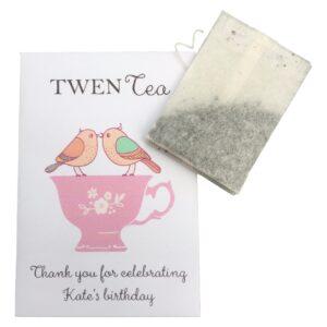 vintage tea party gift