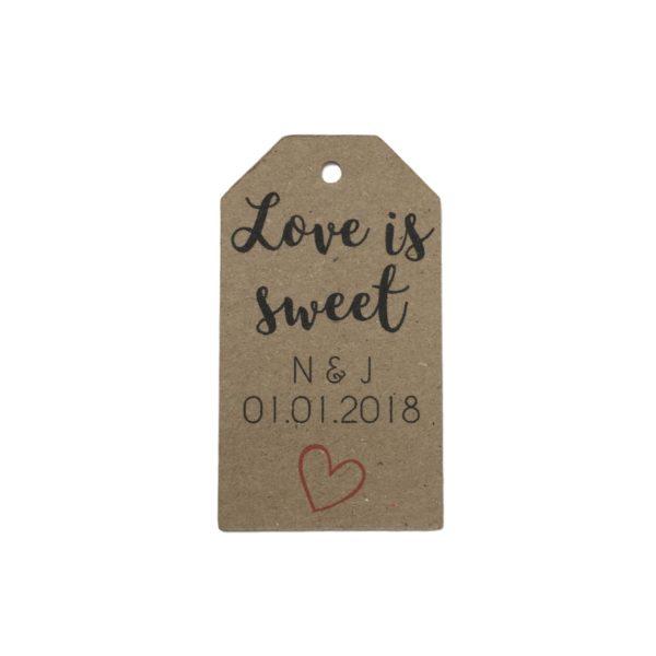 love is sweet tag