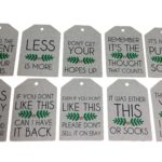 Comical Christmas Luggage Tags